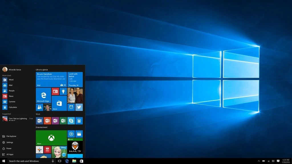 MS Windows 10